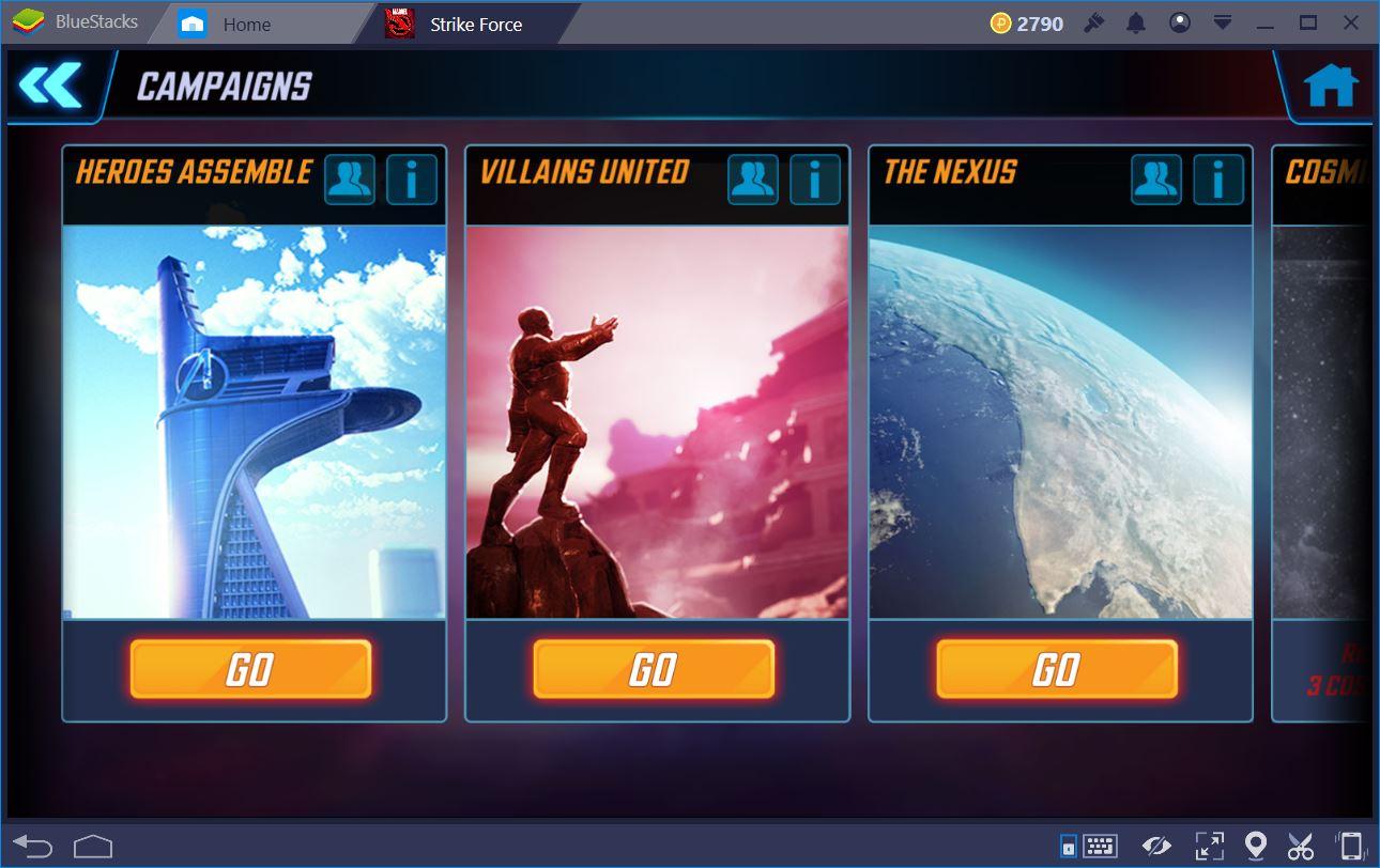 MARVEL Strike Force: Guida per i nuovi giocatori