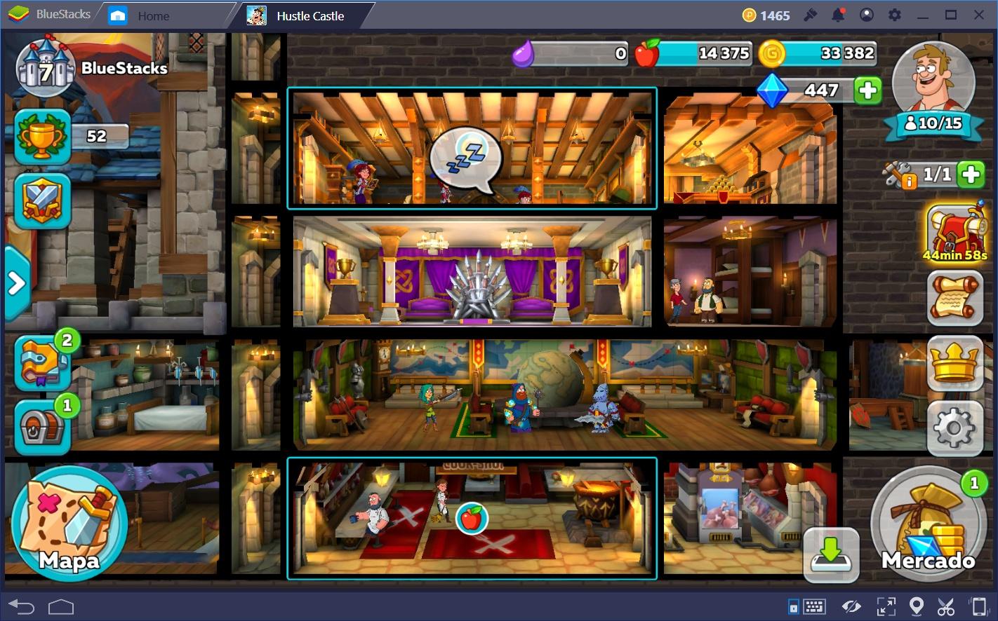 Tips y Consejos Para Hustle Castle: Castillo Mágico Parte 1