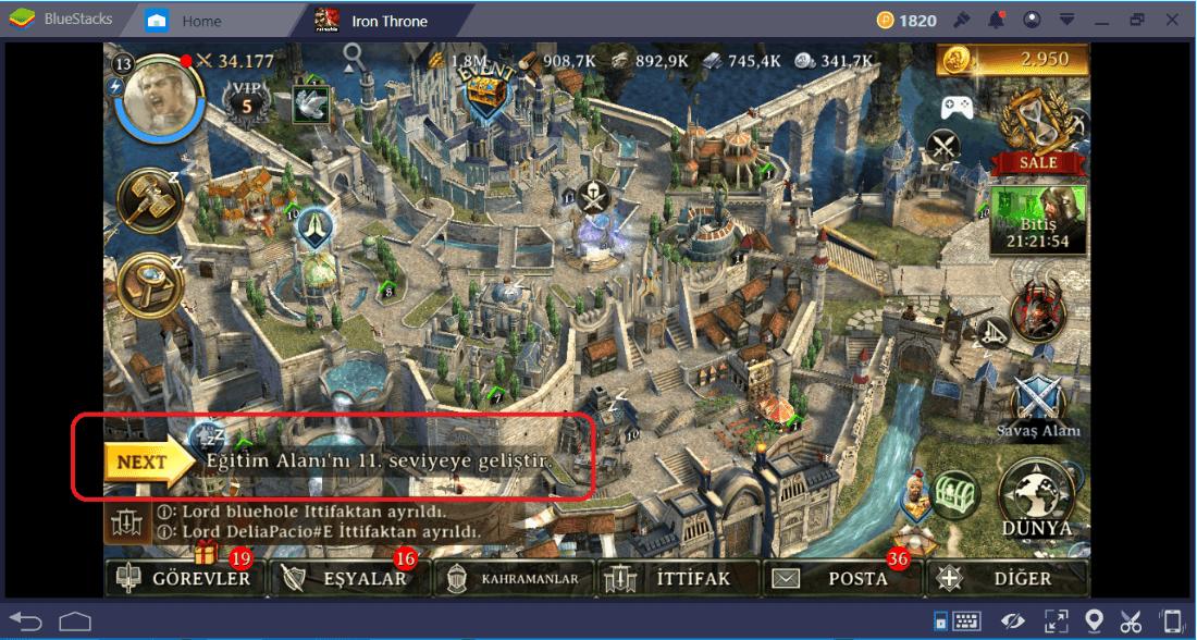 BlueStacks 4 İle Strateji Oyunları Oynamanın Avantajları
