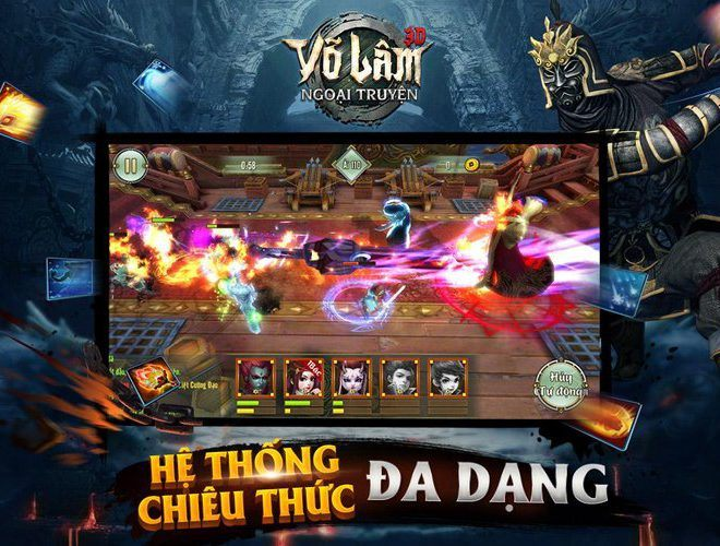 Chơi Võ Lâm Ngoại Truyện on PC 8