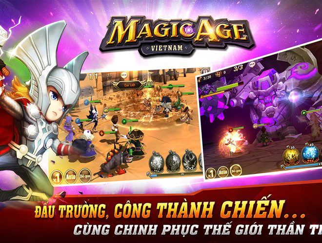 Chơi Magic Age-3D on PC 5