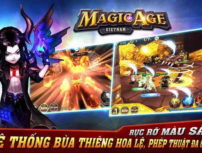 Chơi Magic Age-3D on PC 3
