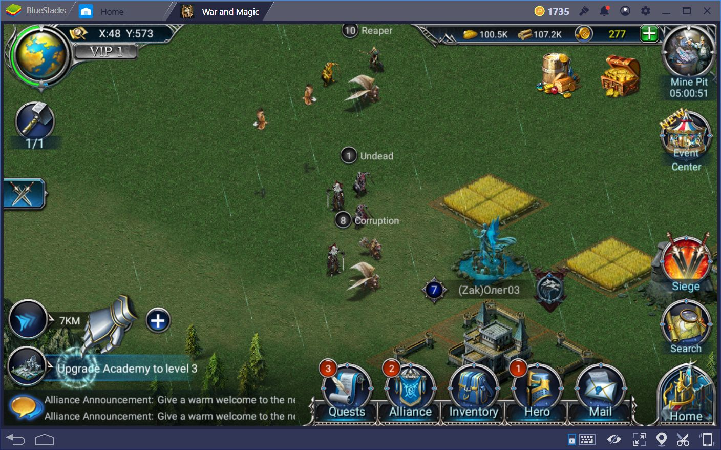 A guide to world map creatures in war and magic part ii bluestacks keep in mind that as your level increases and you get access to better troops you might feel the desire to challenge bigger and stronger enemies gumiabroncs