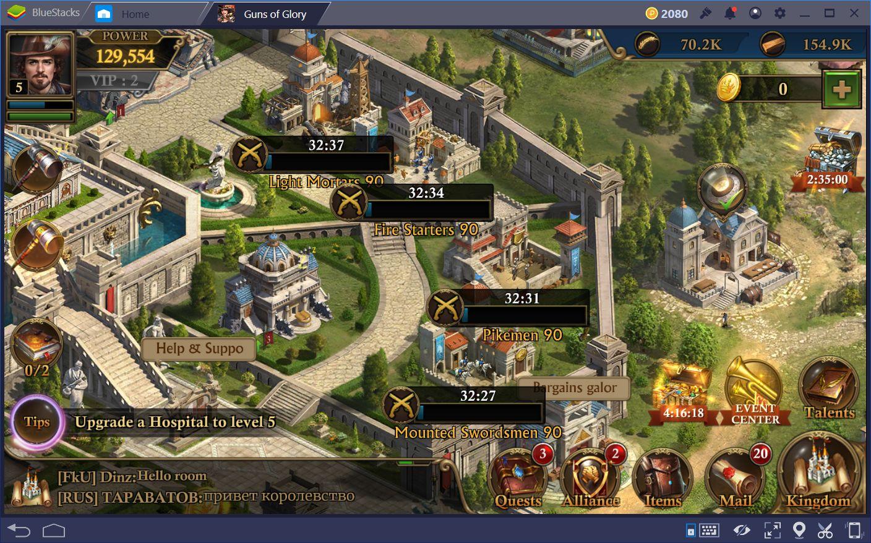 Combat Guide for Guns of Glory Pt  1 | BlueStacks