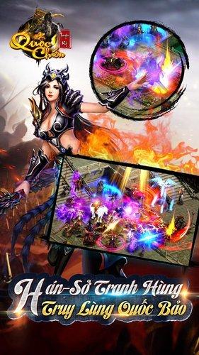 Chơi Quốc Chiến Truyền Kỳ on PC 9