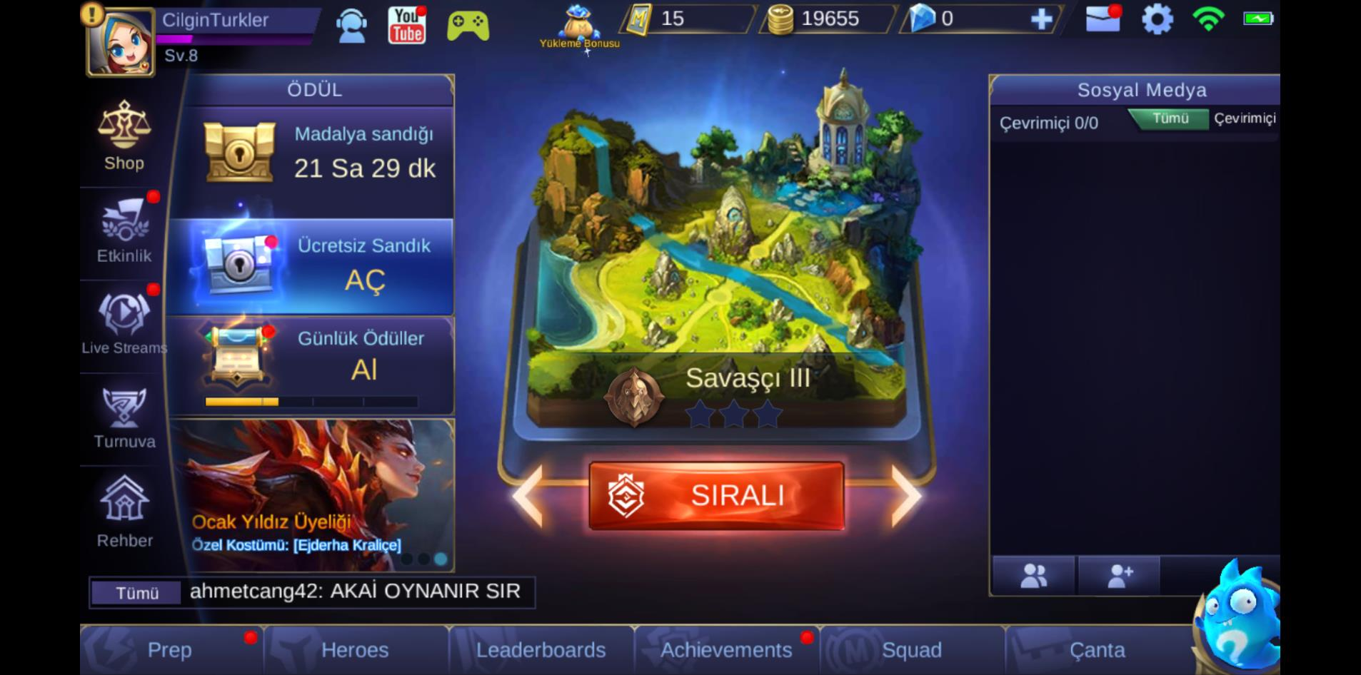 MOBILE LEGENDS: BANG BANG BLUESTACKS İLE BAŞLANGIÇ REHBERİ