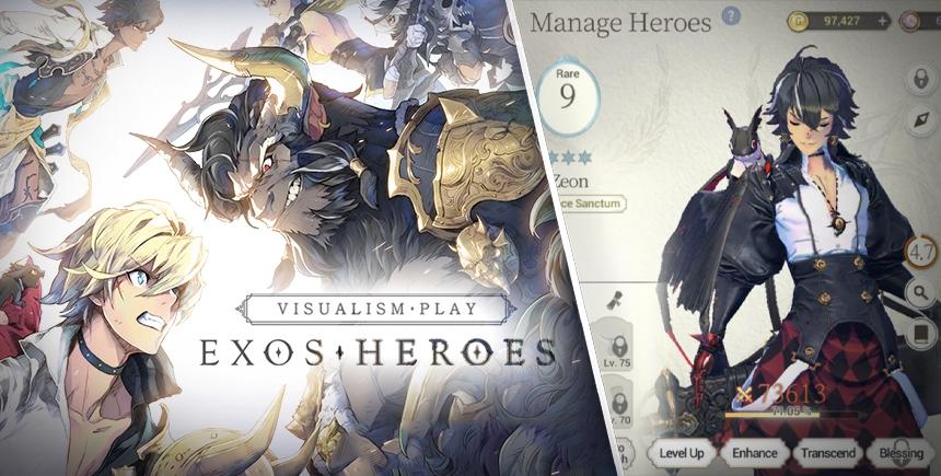 Exos Heroes – Trucs et astuces pour bien débuter