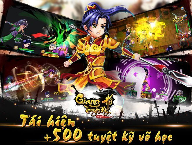 Chơi Giang Hồ Truyền Kỳ on PC 14