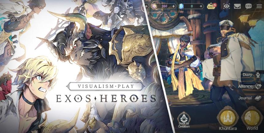 Exos Heroes – So aktualisierst und stärkst du deine Helden