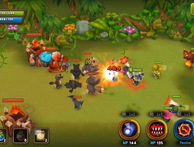 เล่น Plants war 2 on PC 8