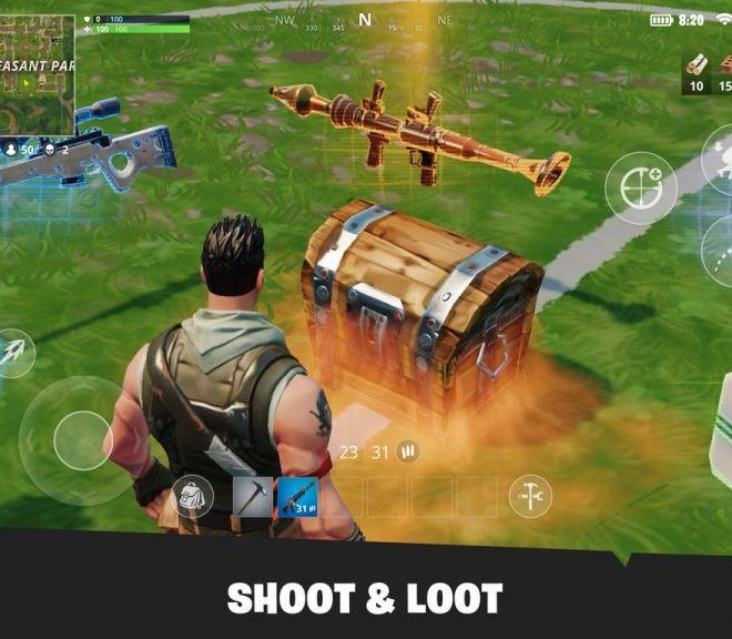Chơi Fortnite Mobile on PC 2