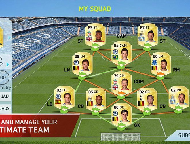 เล่น FIFA 15 Ultimate Team on pc 7
