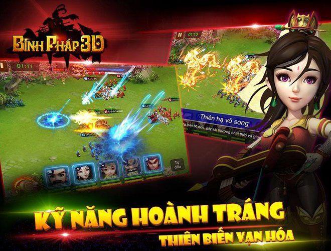 Chơi Binh Pháp 3D: Tam Quốc Chiến on PC 6