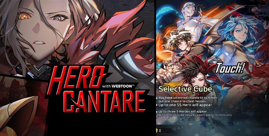 Hero Cantare – Guide sur le reroll et sur les meilleurs personnages