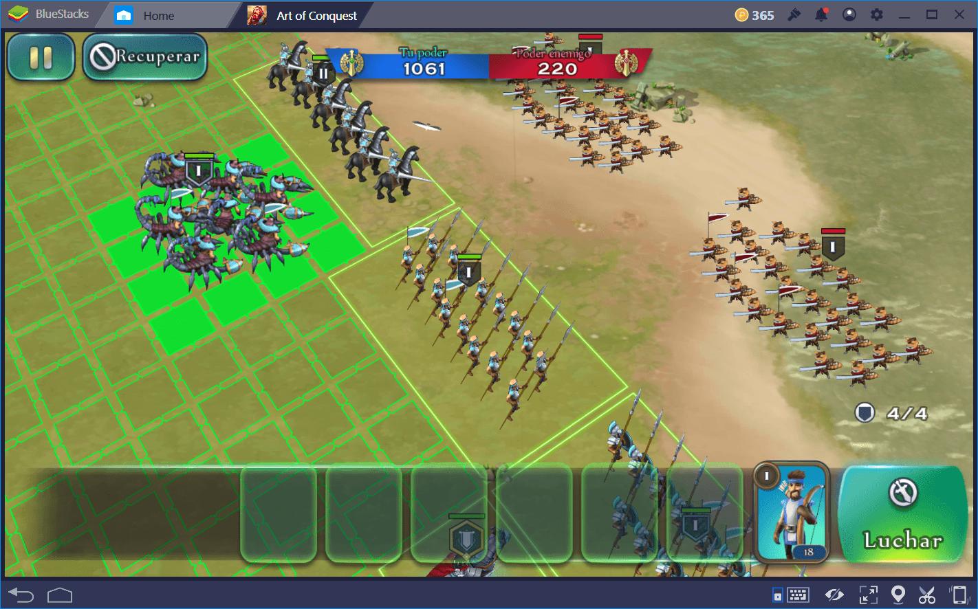 Art of Conquest (AoC): Consejos Para Salir Victorioso en Combate