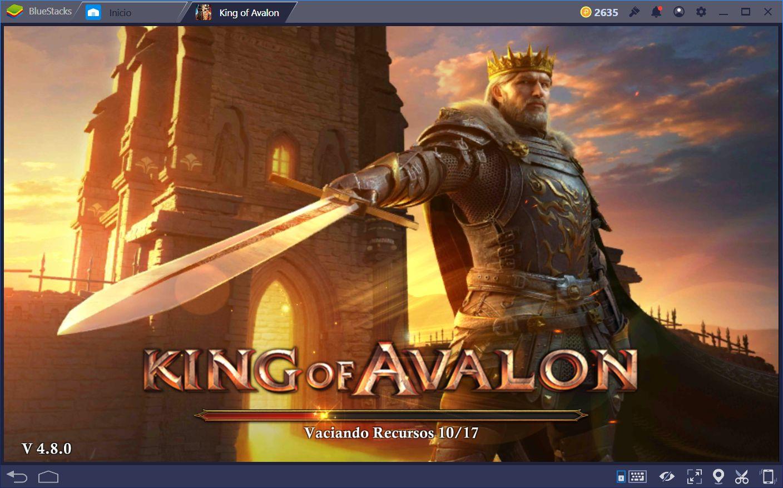 Empezando tu Ciudad en King of Avalon