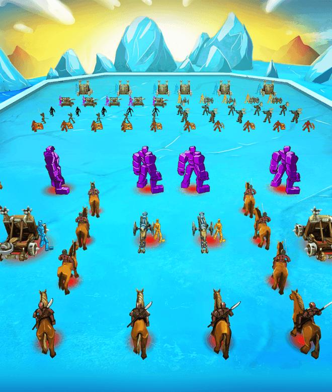 Играй Epic Battle Simulator На ПК 13