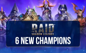 RAID: Shadow Legends – 6 New Champions and the Next Fusion Event