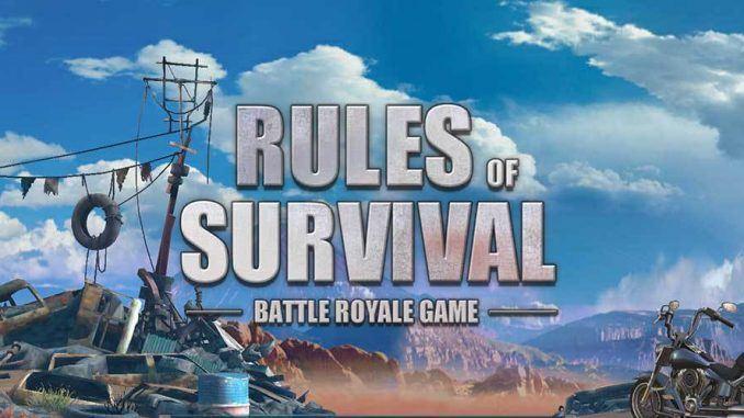 Rules of Survival Silah Rehberi