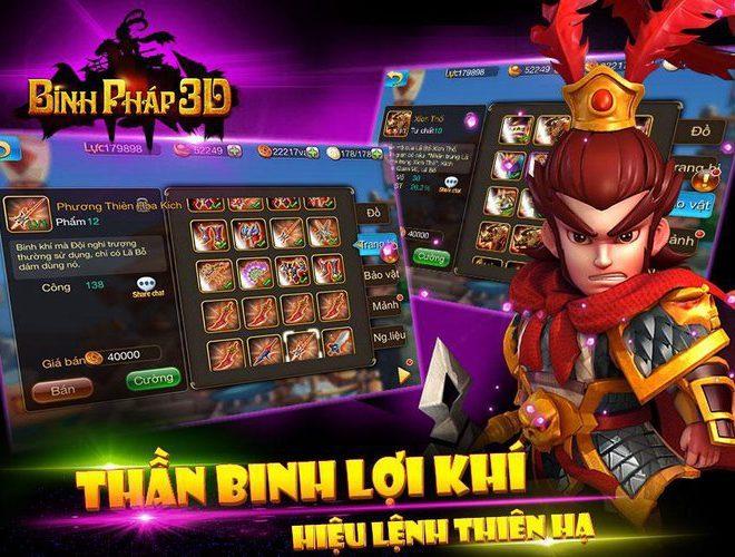 Chơi Binh Pháp 3D: Tam Quốc Chiến on PC 12