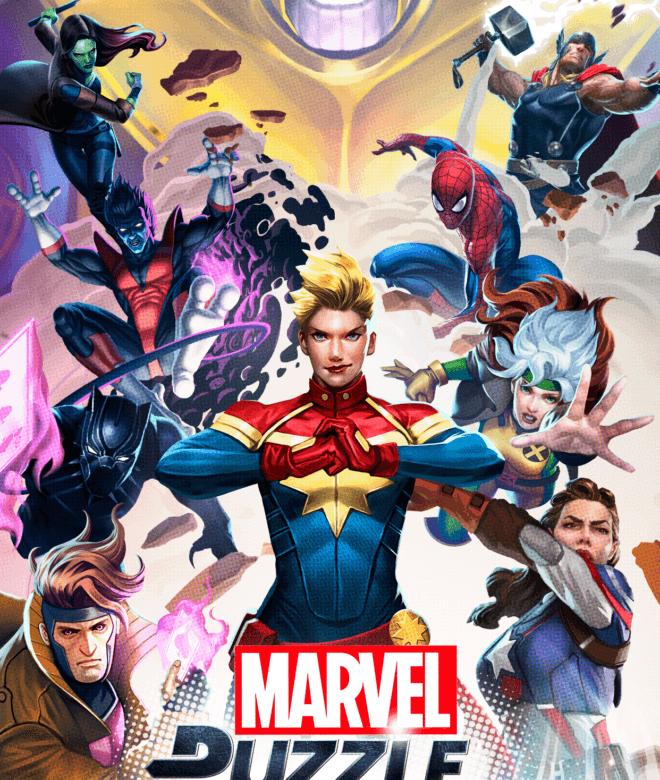 Играй Marvel Puzzle Quest На ПК 7