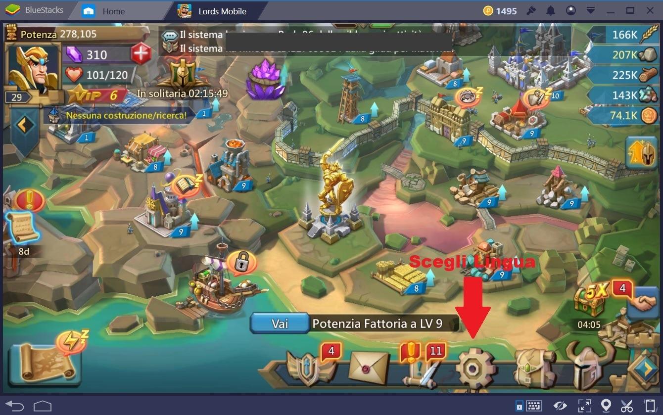 Lords Mobile: Guida e Consigli per i nuovi giocatori