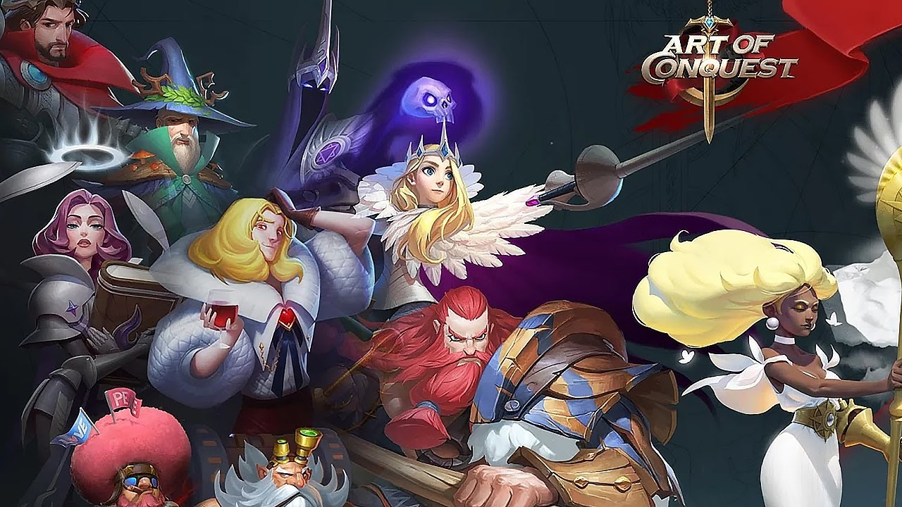 Art of Conquest: гайд по героям