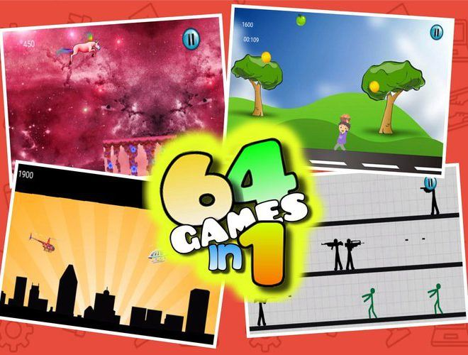 إلعب 64 Games on PC 4