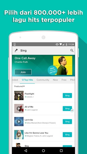 Main Sing! Karaoke by Smule on PC 4