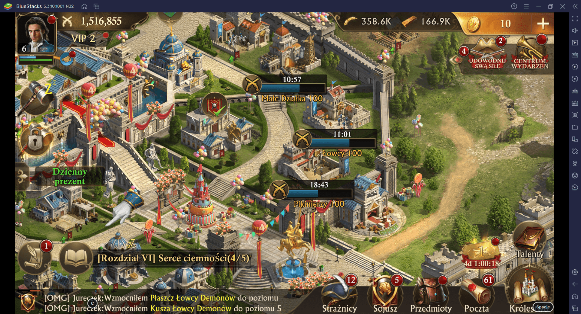 Guns of Glory na PC: Jak stworzyć wydajną posiadłość – część 1