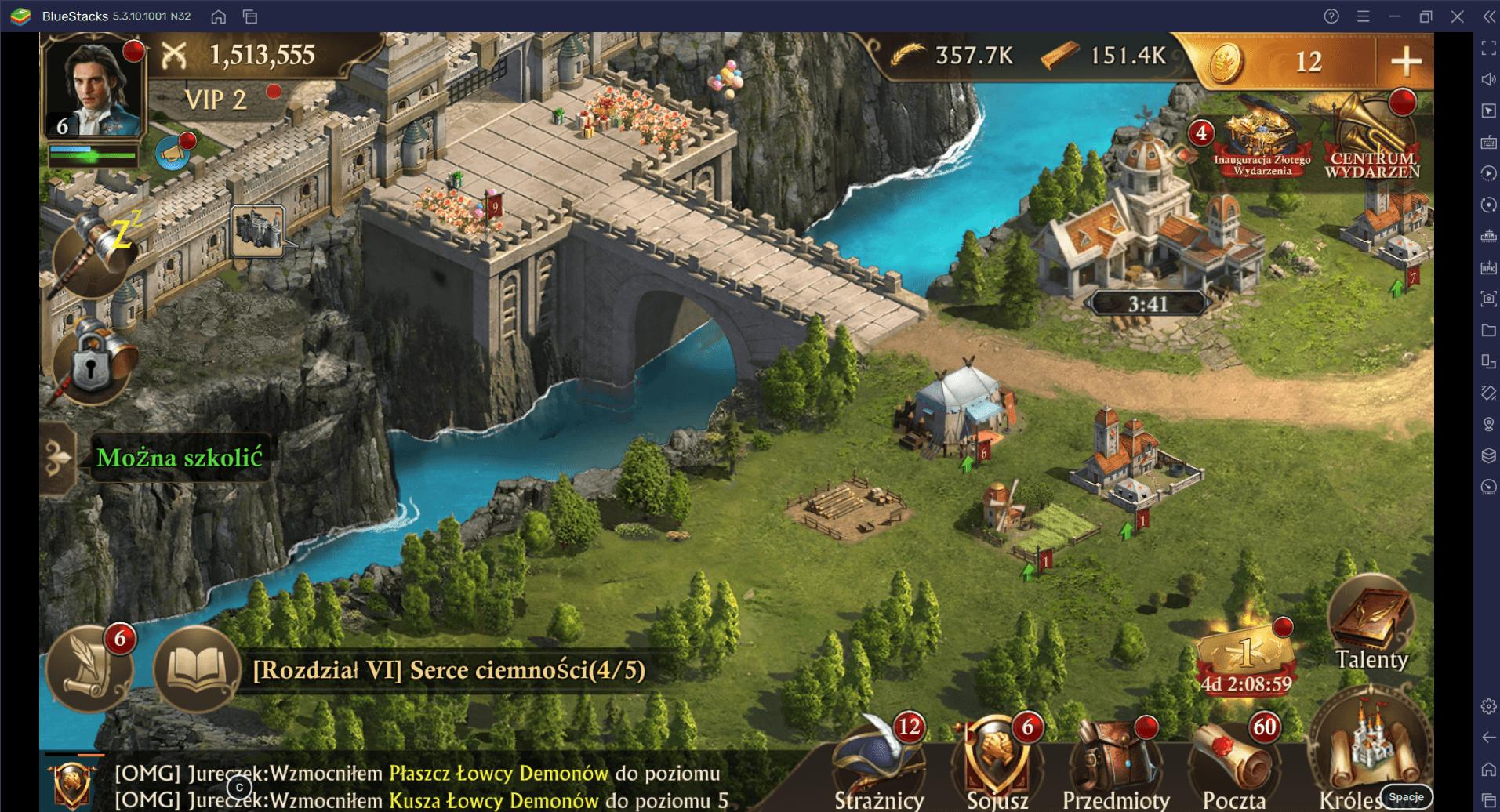 Guns of Glory na PC: Jak stworzyć wydajną posiadłość – część 2