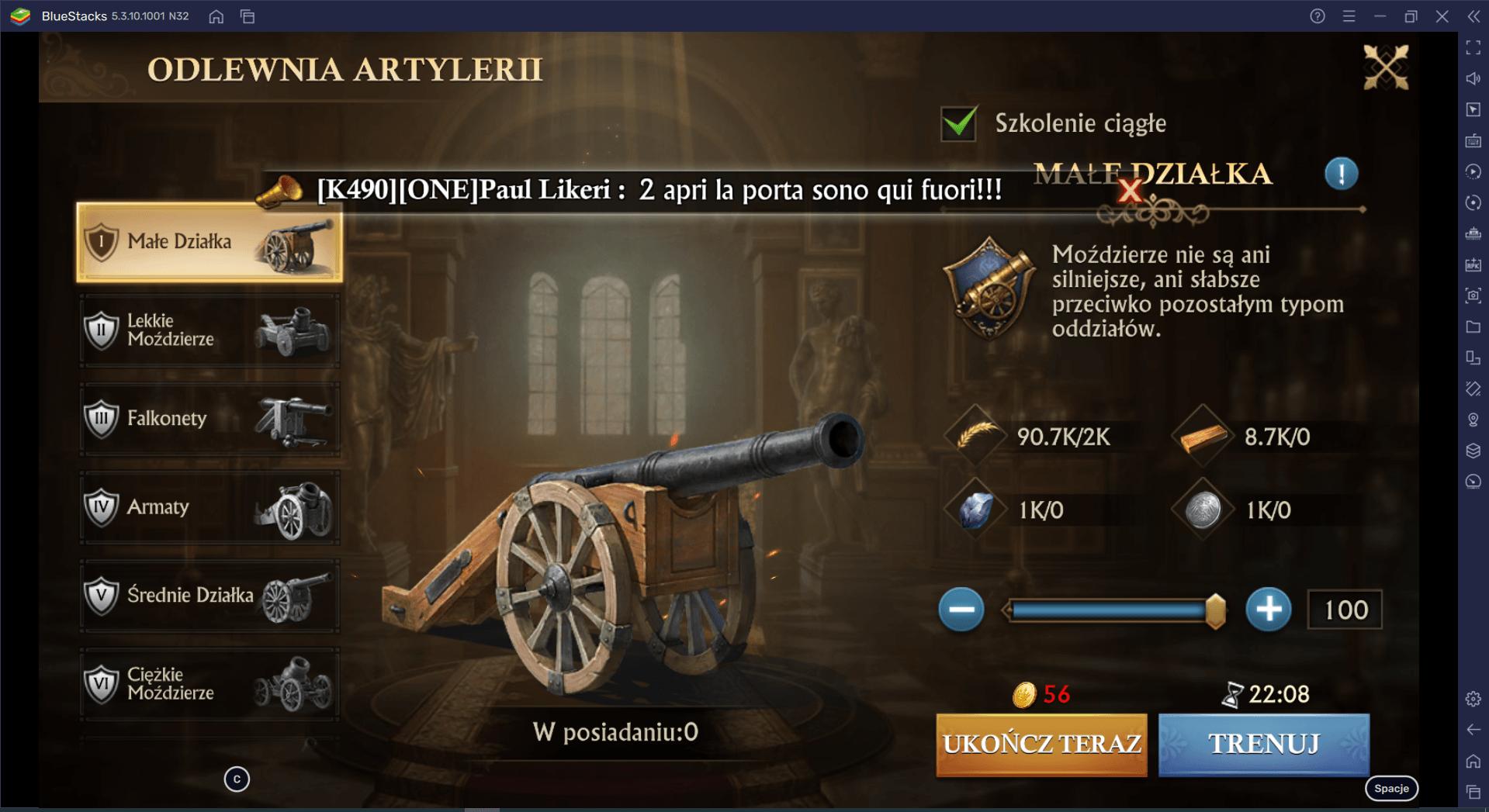 Guns of Glory –  Przewodnik bojowy Cz. 1