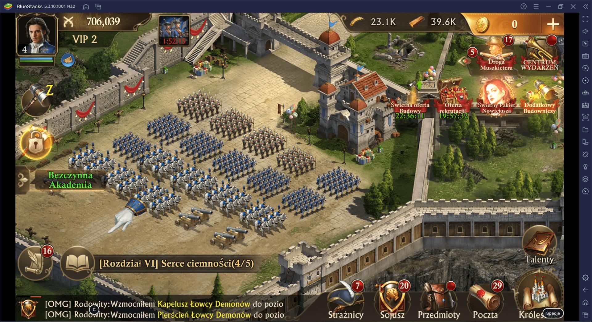 Guns of Glory –  Przewodnik bojowy Cz. 2