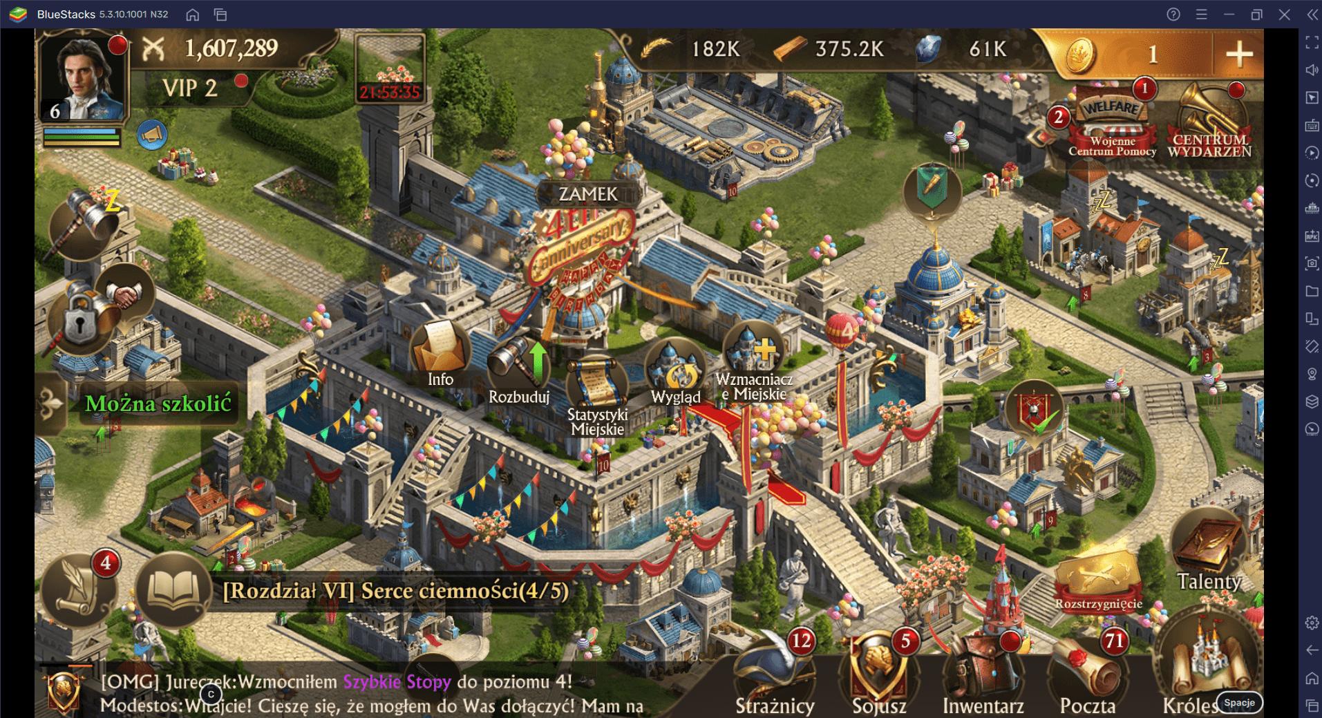 Guns of Glory na PC – zostań mistrzem ataków na odległość