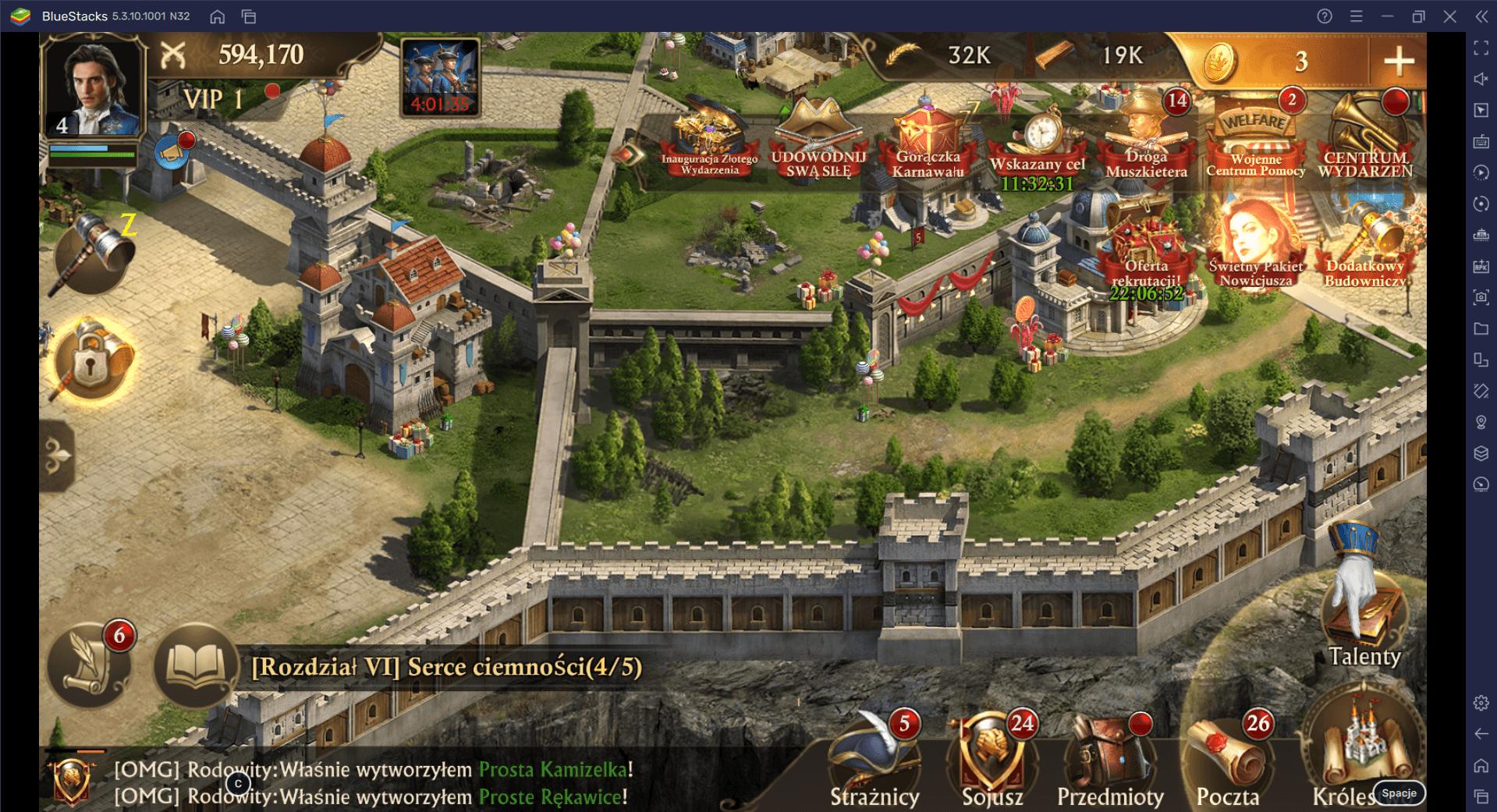 Wskazówki i porady, jak poprawić swój sukces w Guns of Glory na PC