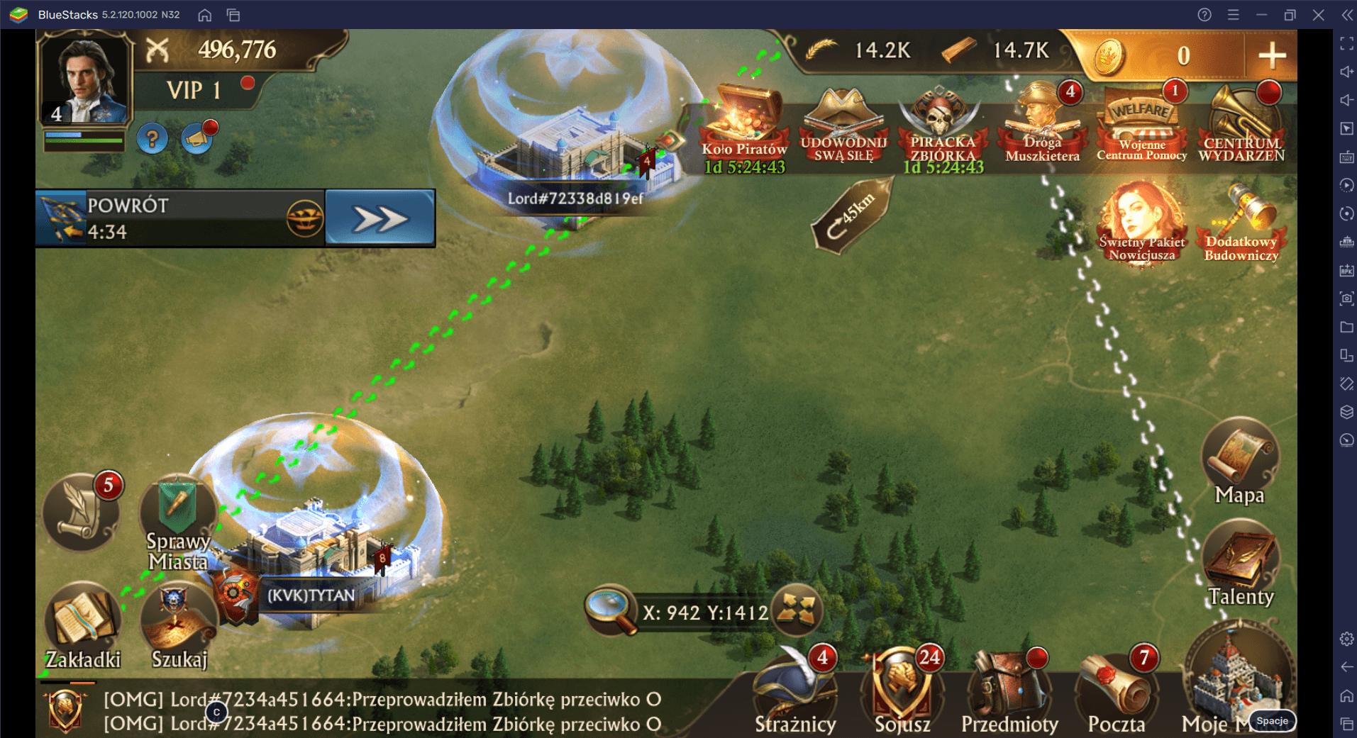 Guns of Glory na PC: Skróty BlueStacks do pokonania wrogów