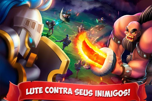 Jogue Epic Summoners: Battle Hero Warriors – Action RPG para PC 4