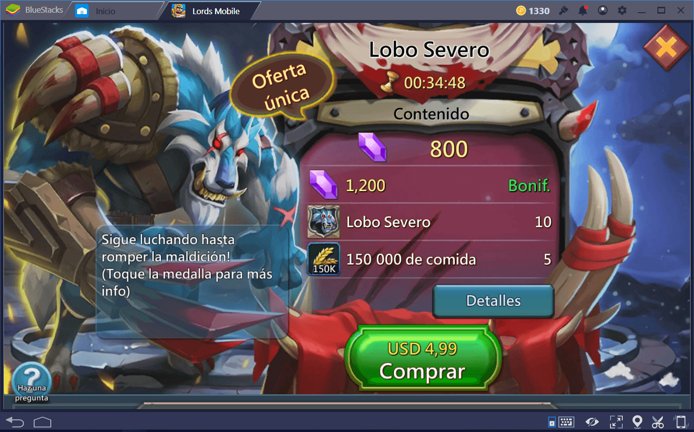 Guía de Héroes Gratuitos en Lords Mobile