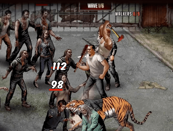 Spiele The Walking Dead: Road to Survival auf PC 14