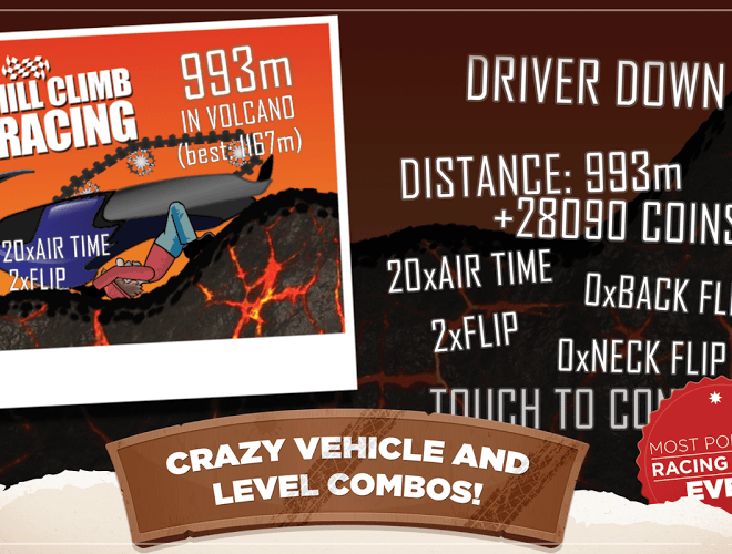 เล่น Hill Climb Racing on PC 20