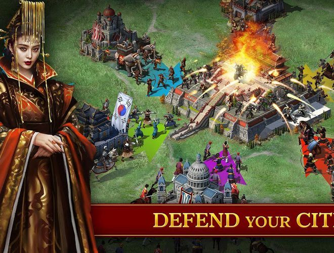 Play Evony: The King's Return  on PC 5