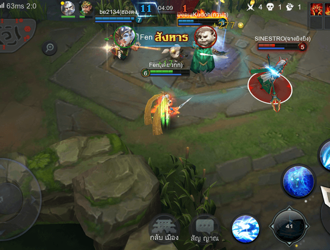 เล่น Heroes Glory: First Blood on PC 5