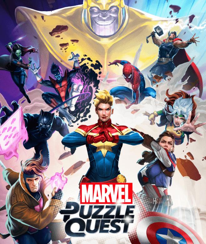 Играй Marvel Puzzle Quest На ПК 13