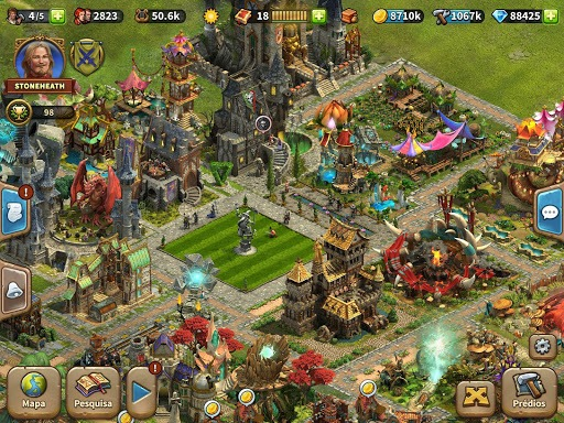 Jogue Elvenar para PC 23