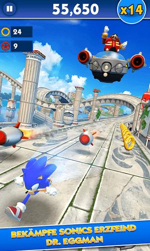Spiele Sonic Dash auf PC 2