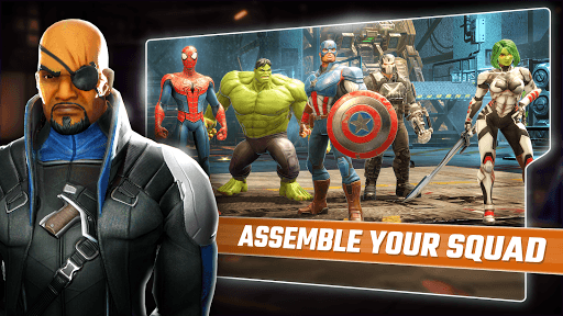 Play MARVEL Strike Force on PC 3
