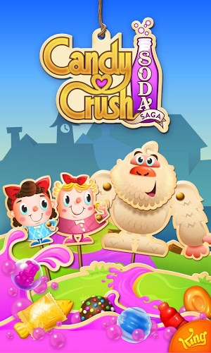 Играй Candy Crush Soda Saga on pc 7