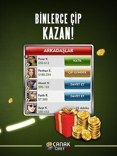 Play Canak Okey Plus on PC 15
