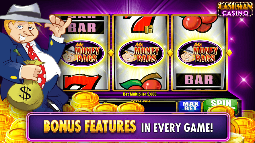 Download Cashman Casino – Free Slots on PC with BlueStacks