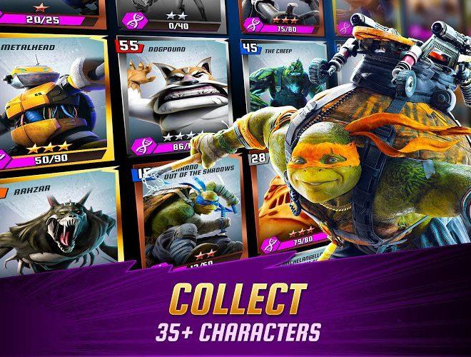 Chơi Ninja Turtles: Legends on PC 3